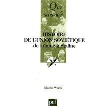 Nicolas Werth - Histoire de l'Union soviétique 1