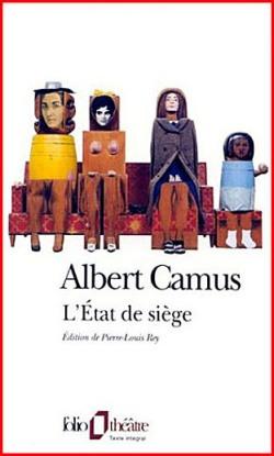 Albert Camus - L'etat-de-siege