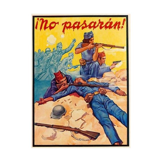 affiche-1936-inconu-no-pasaran-cnt-ugt